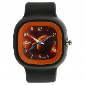 Brown Dial Plastic Strap Watch (nec3030pp05c)
