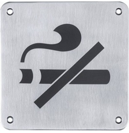 Nexus Sign Plate No Smoking