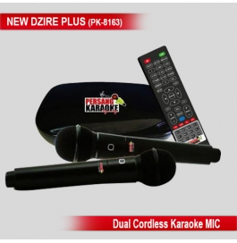 Persang Karaoke New Dzire Plus Player With Songs Recordable