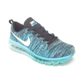 Nike Air Max Flyknit Blue Training Shoes