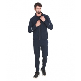 Nike Blue Polyester Lycra Tracksuit Single