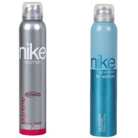 Nike Extreme And Up Or Down Woman's Deodrant