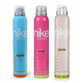 Nike Pure, Trendy, Urban Musk Deodorants 200ml For Women Pack Of 3