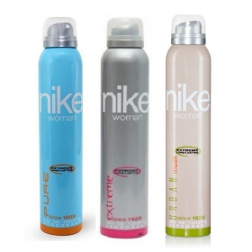 Nike Pure, Urban Musk, Extreme Deodorants 200ml For Women Pack Of 3