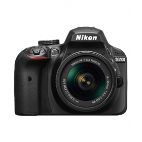 Nikon D3400 With Af-p Dx Nikkor 18mm-55mm F/3.5-5.6g Vr Lens , Memory Card And Bag