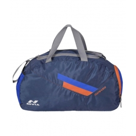 Nivia Blue Solid Duffle Bag