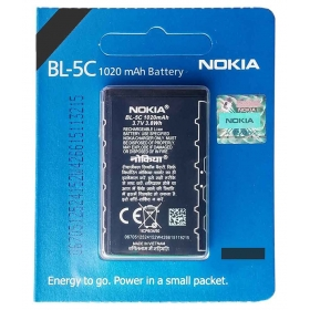 Nokia Bl-5c Battery 1020 Mah By Nokia