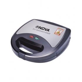 Nova Nsm 2410 2 In 1 Snack Maker - Black