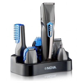 Nova Waterproof Ng1175 Multigroom Multigrooming Kit ( Black )