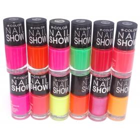 V-Color Nail Show Polish Set of 12 Pcs. - Multicolor Set