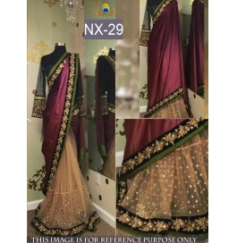 Ideal Joya Silk Multi Saree