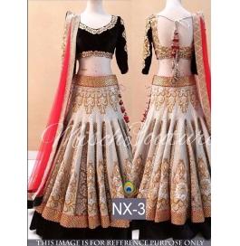 Banarasi Silk Multi Lehenga