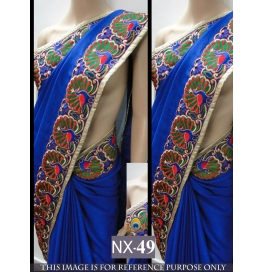 Party Wear Beautiful New Saree