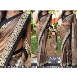 Gorgeous Look Stylish Saree