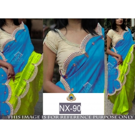 Indian Traditional Party Wear Designer Saree