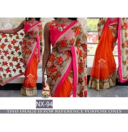 Indian Designer Party Wear Latest Design Saree
