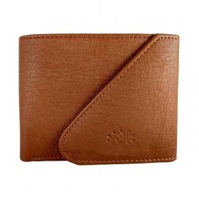 Oaks Wood Leather Tan Casual Regular Wallet