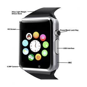Celkon Charm Star Compatible Smart Watches
