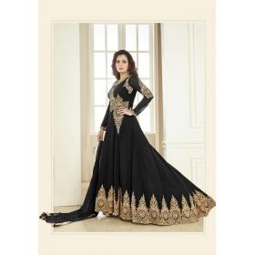 Odin Paris New Presents Exclusive Diwali Special New Designer Black  Anarkali Suit