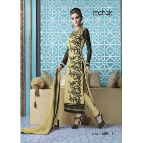 Odin Paris New Designer Indian Ethinic Wedding Bollywood Traditional Mahek Yellow Suit Salwar Kameez