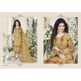 Odin Paris Georgette Embroidered & Stone Work Salwar Suit