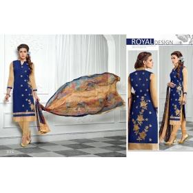 Odin Paris Special Embroidered Designer Salwar Suit Dupatta