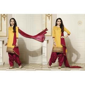 Odin Paris Yellow New Designer Indian Long Salwar Suit