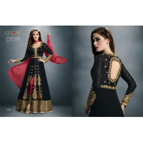 Odin Paris Gulzar Desiner Collection In Party Wear Suit With Stylish Look