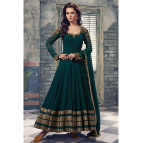 Odin Paris New Attractive Pista Green Designer Salwar Suit