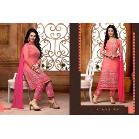 Odin Paris New Pink Fancy Look Designer Salwar Suit By Mk13
