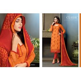 Odin Paris  Present Latest Stylish Fancy Orange Heavy Designer Salwar Suit