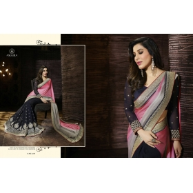 Beautiful Multi Amira Designer Saree