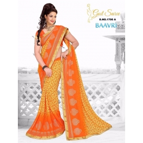 Special New Designer Printed Blouse Saree
