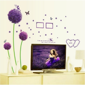 Ay6006 Photo Frame Nature Wall Sticker  Jaamso Royals