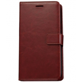 Oppo F1s Flip Cover By Imob - Brown