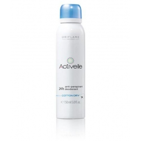 Activelle 24h Anti Perspirant Deodrant 150 Ml Cottn Dry