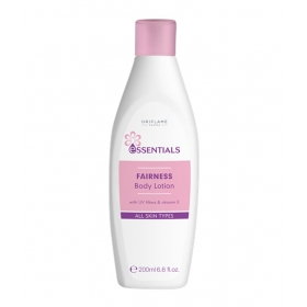 Oriflame Essentials Fairness Body Lotion With Uv Filters And Vitamin E - 200 Ml
