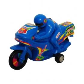Blue Kawasaki Bike