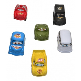 Mini Vehicle Pull Back & Go -set Of 6