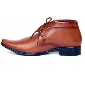Formal Lace Up Shoes  (tan)