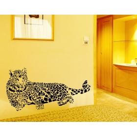 Ay9029 Tiger Nature Wall Sticker  Jaamso Royals