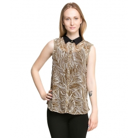 Sleevebrown Polyester Shirts