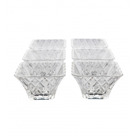 Glass Bowl 6 Pc