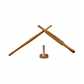 Desi Karigar Wooden Kitchen Tools - Set Of 3