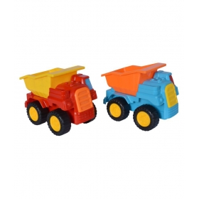 Pack Of 2 Cute Vehicle Themed Colourfull Friction Toy For Kids