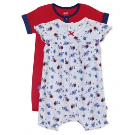 Miniklub Girl's Po2 Rompers-multi