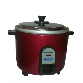 Panasonic Sr-wa10(ge9) Red Electric Cooker