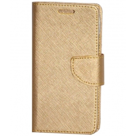 Panasonic Eluga Note Flip Cover - Golden