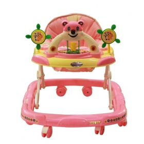 Baby Pink Panda Adjustable Walker