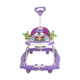 Purple Plastic Baby Walker